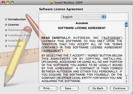 Autodesk Mudbox Online Help: Installing Mudbox on Mac OS X