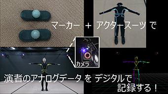 DML~CG制作 いろはにほへと~ 第5回:モーションキャプチャーいろはにほへと