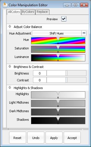 Alias Help: Paint Edit > Color Correction > Color Manipulation