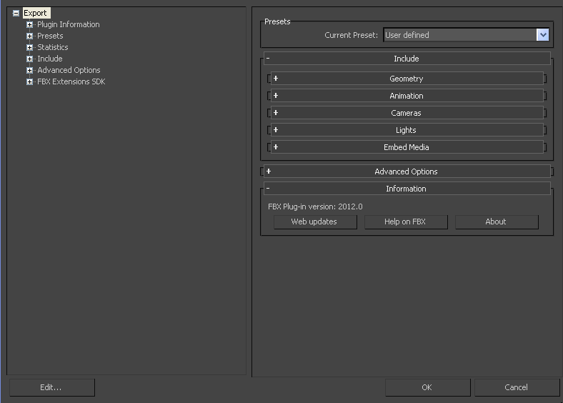 autodesk 3ds max fbx plug in guide editing a preset rh download autodesk com 3DS Max 2014 3DS Max 2009