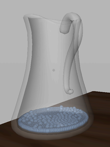 how to make liquid in maya