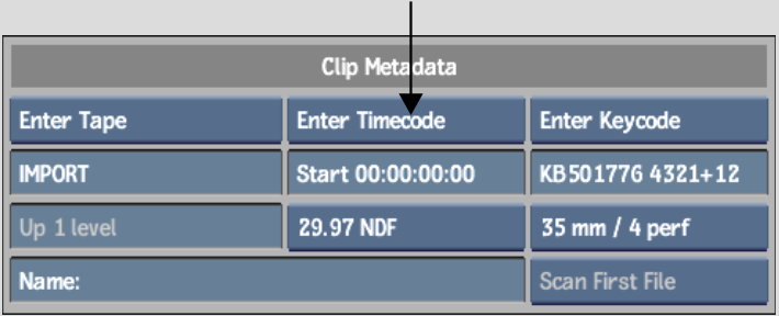 Backdraft Conform: Manually Assigning Timecode and Keycode on Import